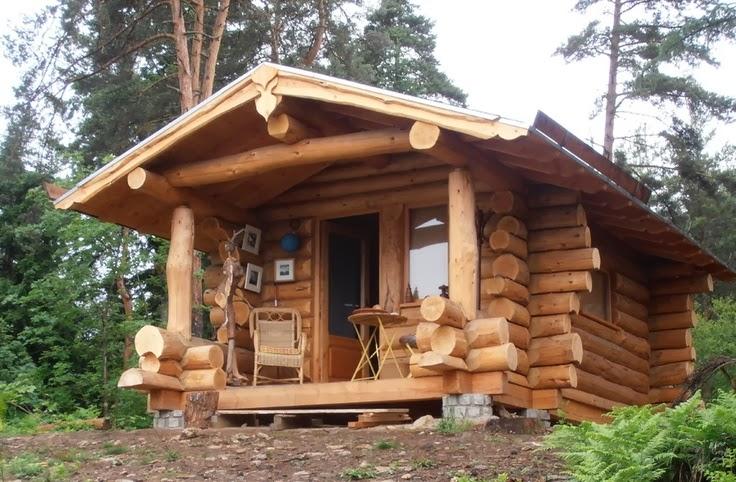 home garden les fustes des maisons en rondins de bois. Black Bedroom Furniture Sets. Home Design Ideas