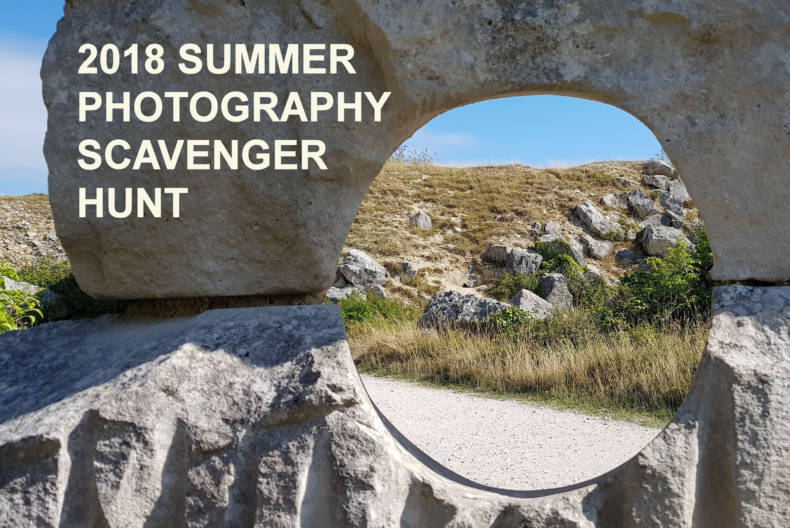 2018 SUMMER PHOTOGRAPHY SCAVENGER HUNT