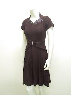 Ladies Fashion Party Dress Spandek Anita LC 3580 Ck
