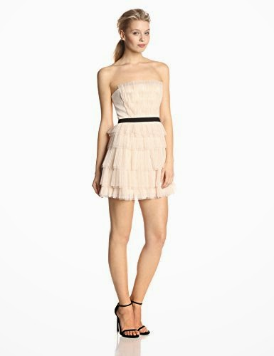 Women's Rayna Strapless Pleated Cocktail Dress