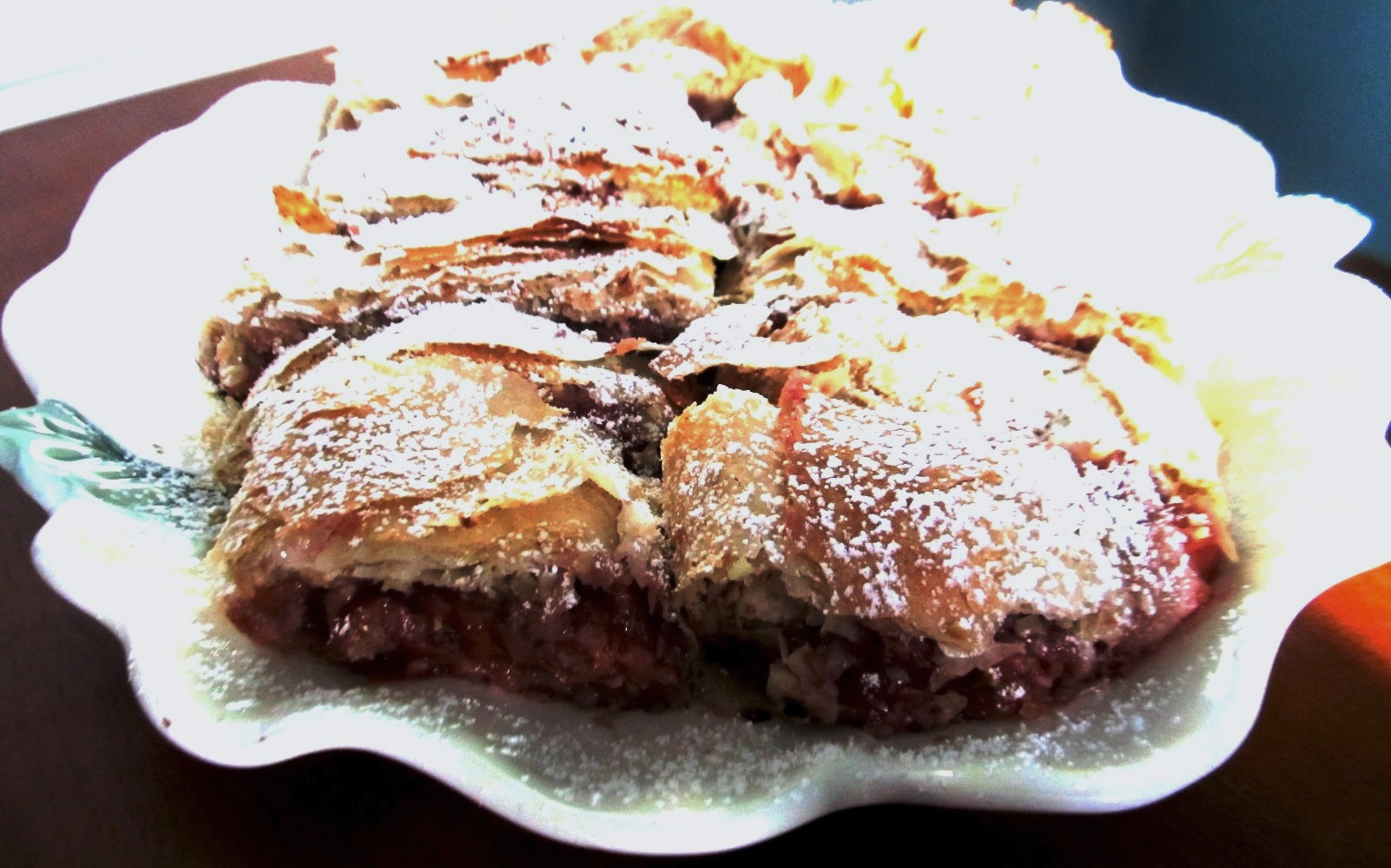 Food and Thrift: Hungarian Sour Cherry Strudel