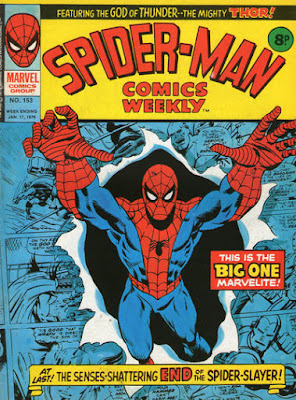 Spider-Man Comics Weekly #153