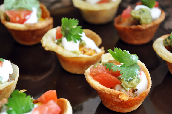 Recipe: Savory mini nacho cupcakes
