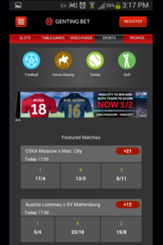 Genting Bet Mobile Offers