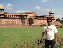 Ranga in the Agra Fort