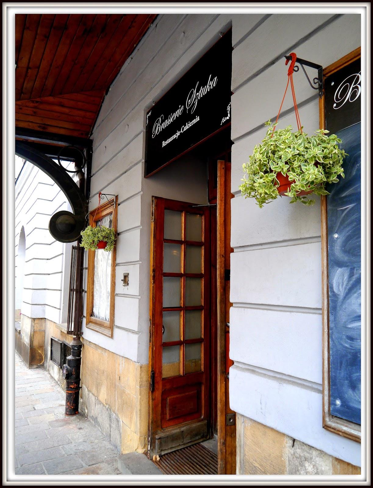 Brasserie Sztuka, św. Jana 6, Kraków