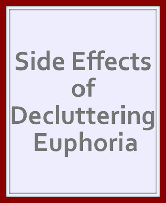 The side effects of decluttering Euphoria can impact your life drastically