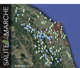 Mappa delle salite