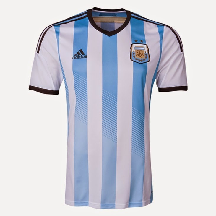 Kostum Timnas Argentina Piala Dunia 2014