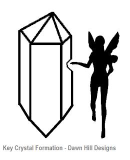 Hazel shows off a Key Crystal Formation