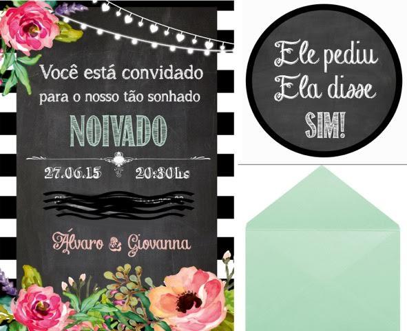 decoração, noivado, real, preto e branco, dourado, convite