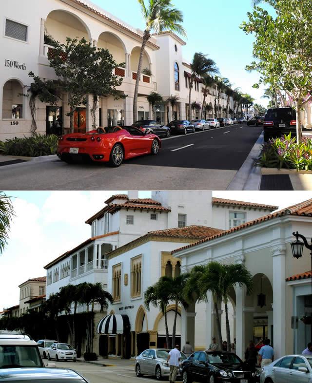 Tour Palm Beach, Flórida