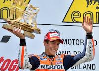 MOTO GP-Márquez, Torres y Rins ganan en carreras de infarto
