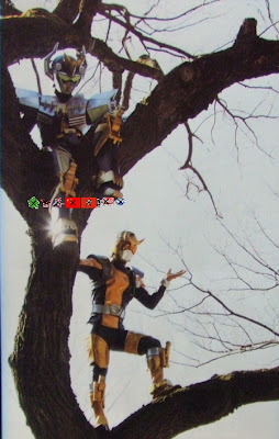 Go-Busters: BeetBuster's Identity Revealed