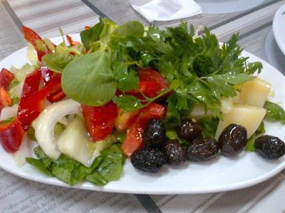 Turkish Salad in Kofteci Ramiz