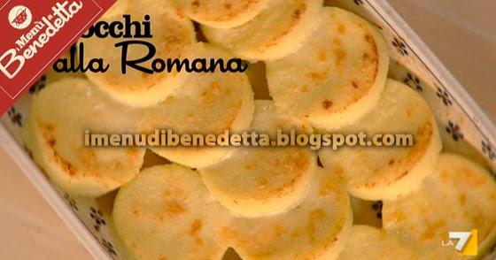 Gnocchi alla romana la ricetta di benedetta parodi - Come cucinare gnocchi alla romana ...