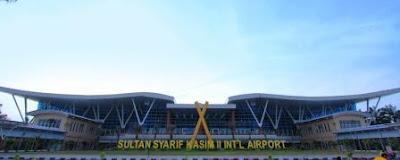bandara sultan syarif kasim ii pekanbaru riau