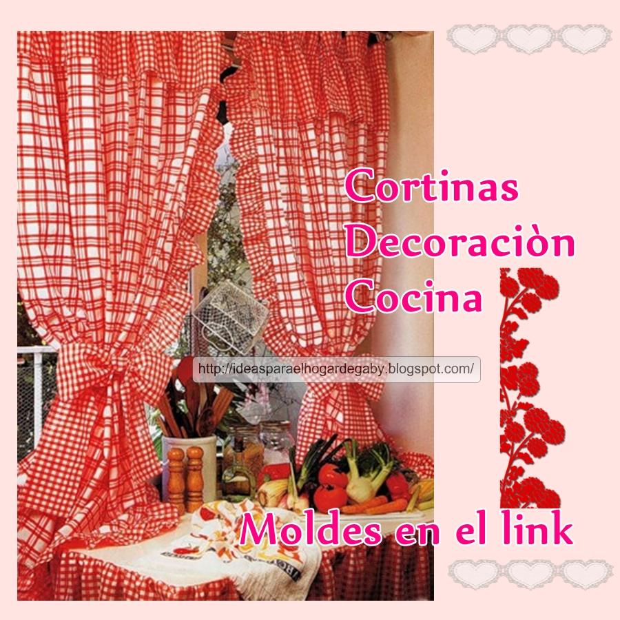 Ideas para el hogar cortinas con moldes de costura for Cosas decorativas para el hogar
