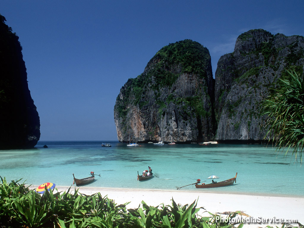 World visits thailand beaches top visit place for Top 1 beach in the world