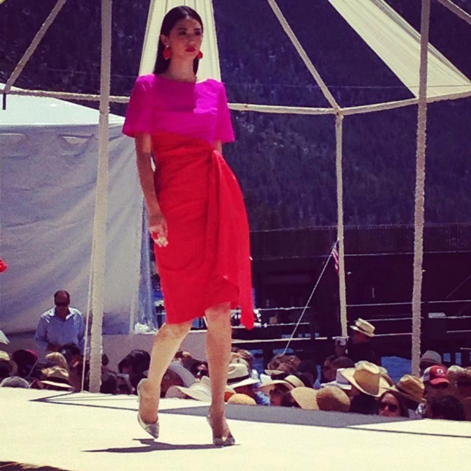 stars model management  oscar de la renta  lake tahoe  2014