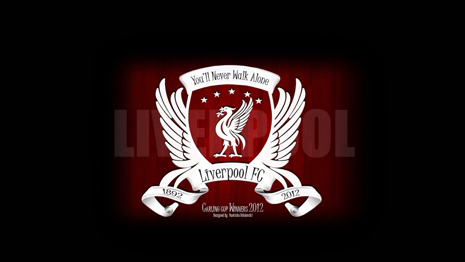 Liverpool Football Club Logo in high resolution newer walk alone