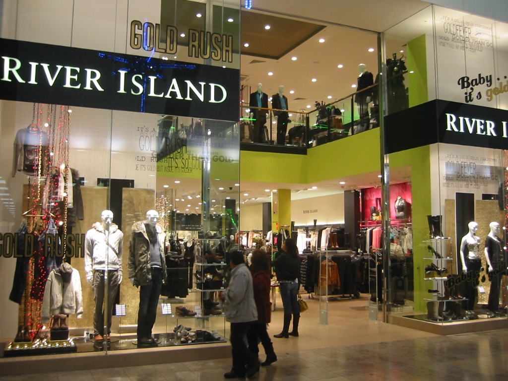 All the River Island store locations in the UK, with directions to each one.