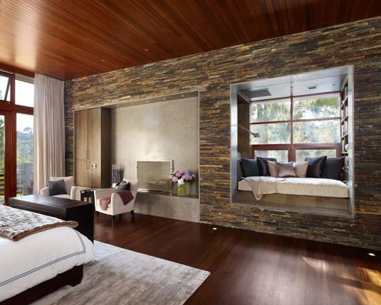 Decoración fácil: paredes de piedra