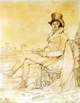 caballero victoriano Ingres scrapbooking