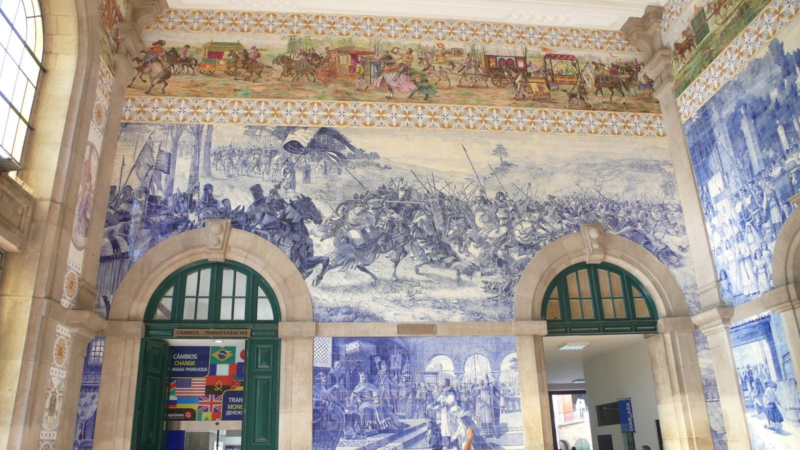 Spirit of traou mad porto grandeur et d cadence for Faiences murales