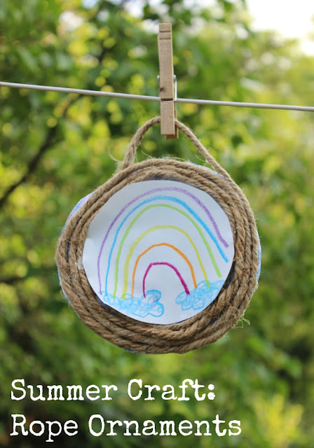 Craft Rope Ornament for Kids