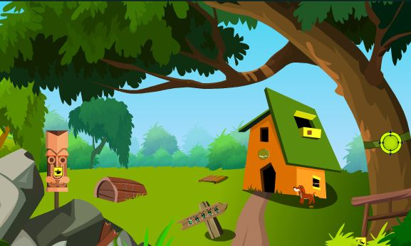 TheEscapeGames Garden Puppy Escape Walkthrough