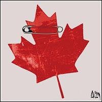 Aislin Canada Day.
