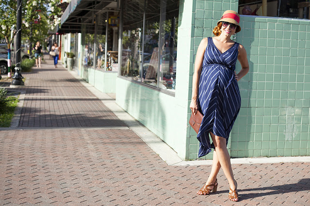 Fashion and travel blogger Amy West's outfit post on lady like liberties