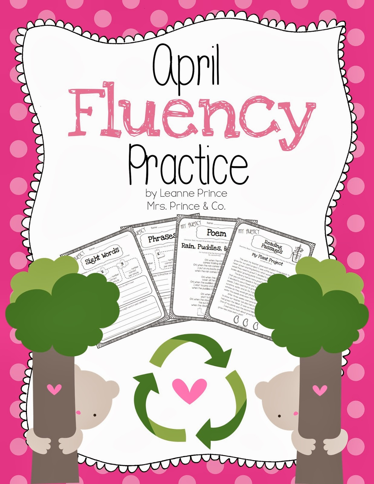 http://www.teacherspayteachers.com/Product/April-Fluency-Practice-627543