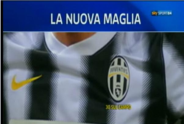 Juventusov dres 2012/13