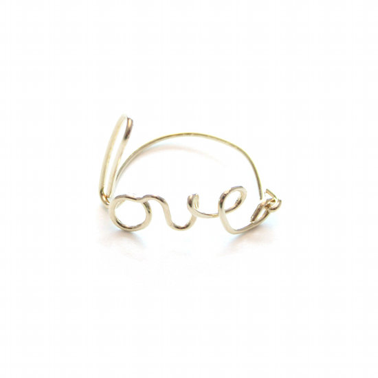 Gold Pinky Ring Womens Allison