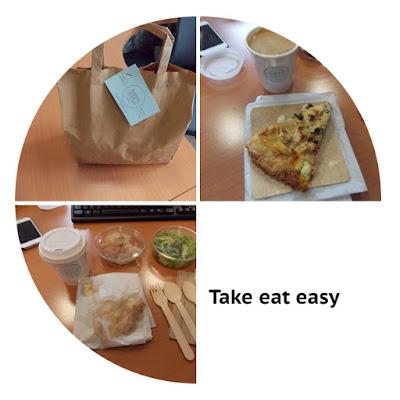 take eat easy, livraison de votre repas à vélo