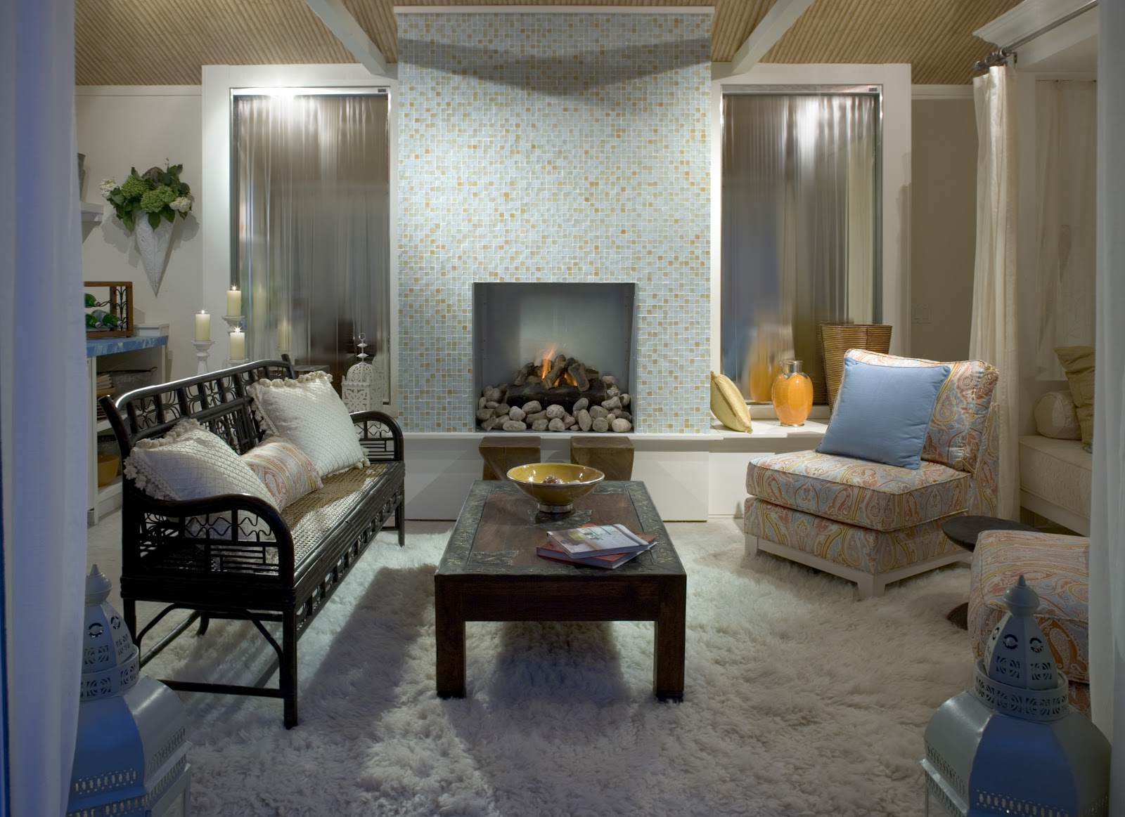 Alpentile Glass Tile Swimming Pools Fireplaces Take Center Stage