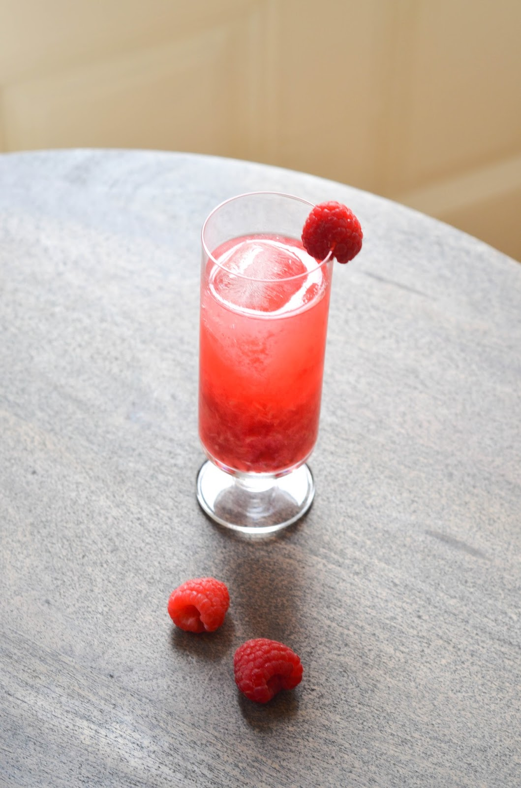 the raspberry collins | prosecco in the park