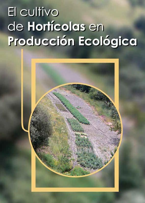 Cover of El cultivo de hortícolas en producción ecológica