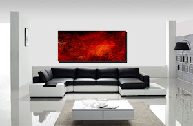 "Abstract Panting ""The Fire Within"" by Dora Woodrum"