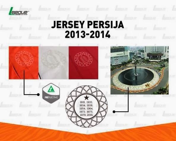 Macam-macam Jersey Persija Home 2014