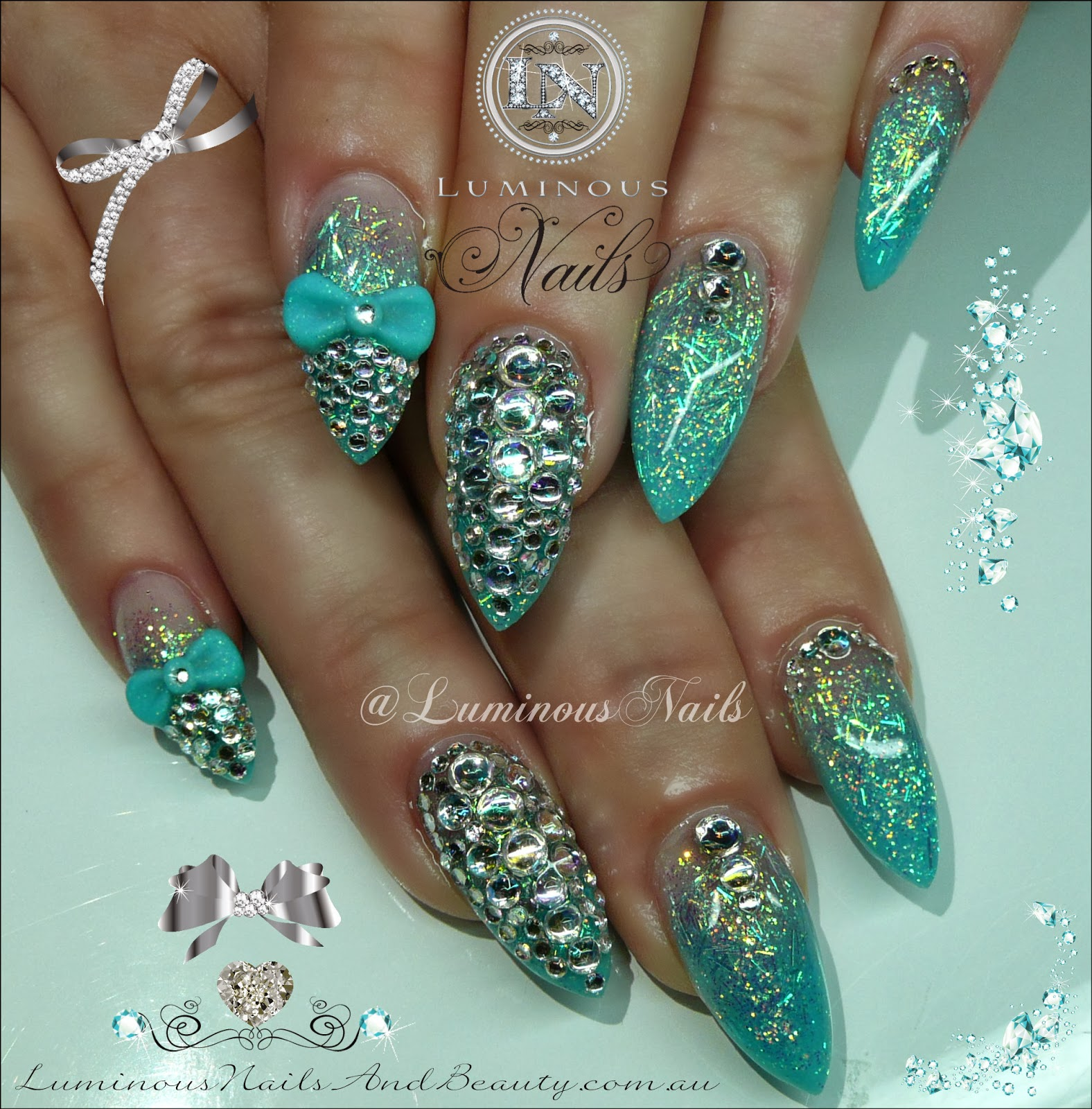 The Excellent Funky nail star designs Photo