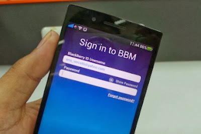 Cara Mengganti BlackBerry ID & Password