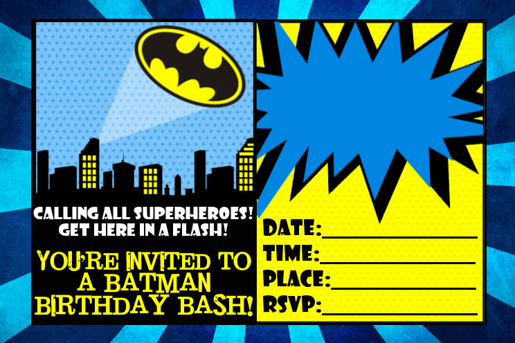 ... Birthday Party Invitation Digital Printable File Images - Frompo
