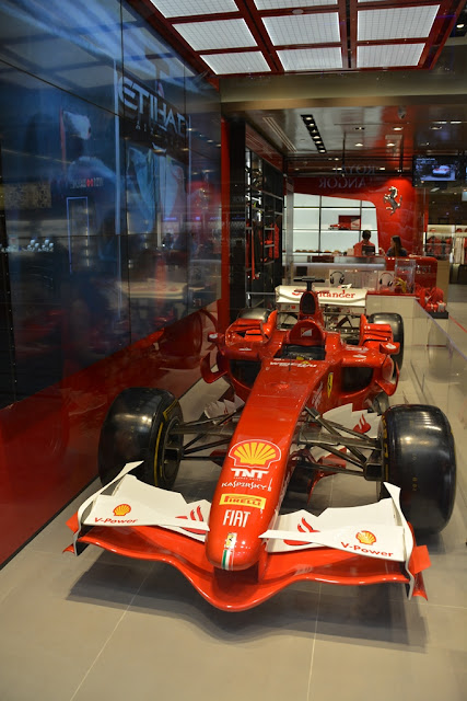 Marina Bay Sands Shops Singapore Ferrari