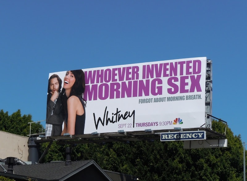 Whitney Morning Sex TV billboard