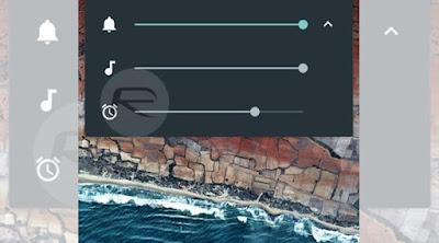 Volume Ringtone, Musik dan Alarm Android Marshmallow