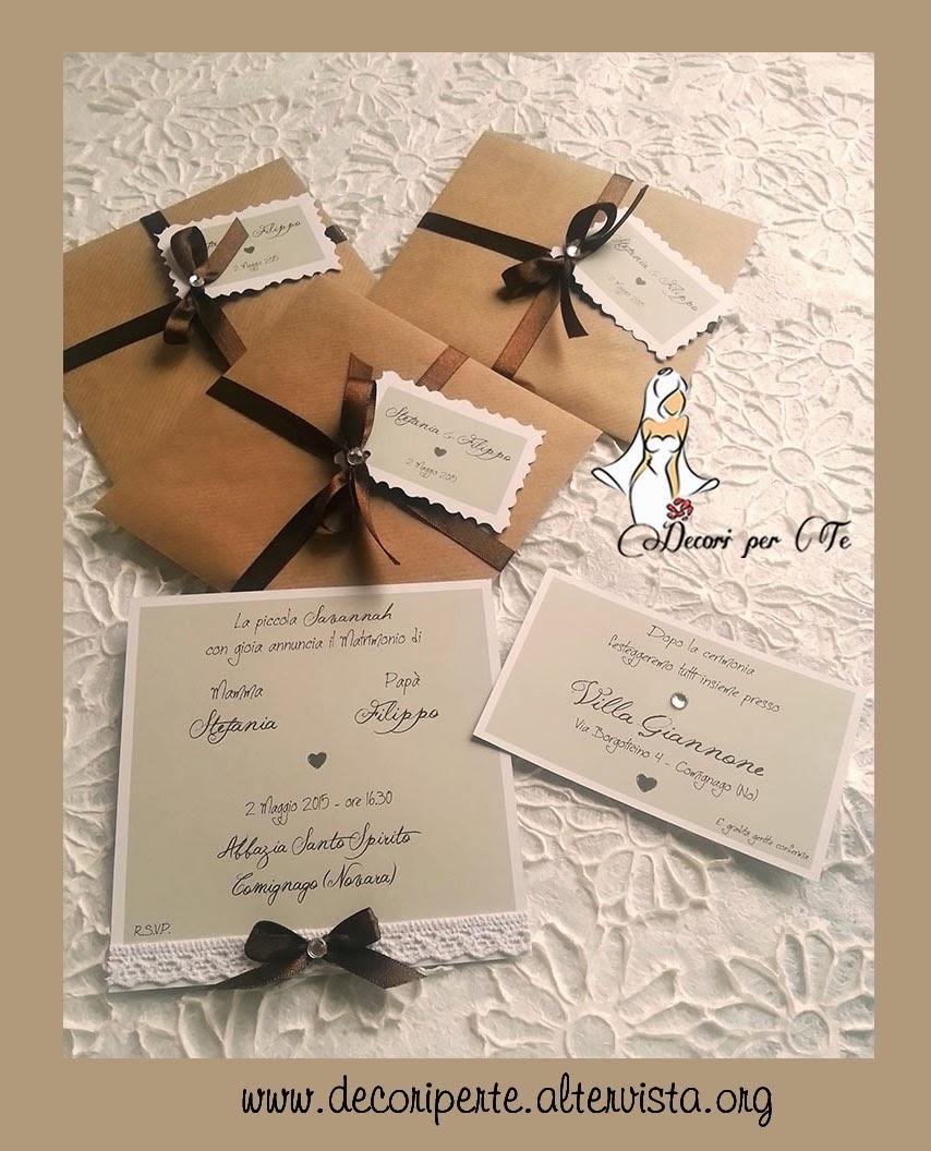 Estremamente DECORI PER TE - Decori per Matrimonio e altre Occasioni & Eventi  FG15