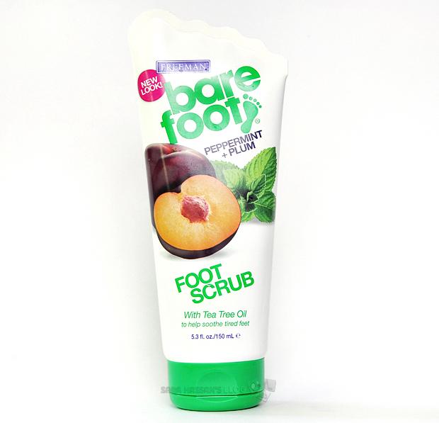 Freeman Bare Foot Peppermint + Plum Foot Scrub